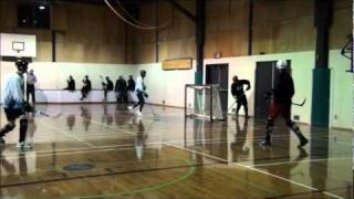 Ball Hockey Fights - Ball Hockey Brawls - Gary Chahal