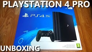 PlayStation 4 Pro - Unboxing PL (rozpakowanie i prezentacja PS4 Pro)