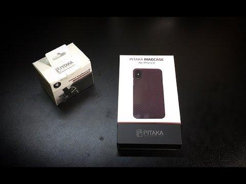 Pitaka MagCase & MagMount for iPhone X (видео)