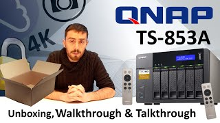 Will the 8 Bay NAS QNAP TS-853A be the right 4K NAS for Plex?