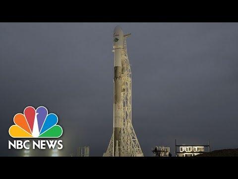 SpaceX Launches NASA's GRACE-FO, Iridium Satellites   NBC News
