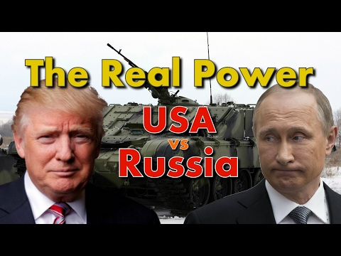 USA vs Russia-The Real Superpower 2017
