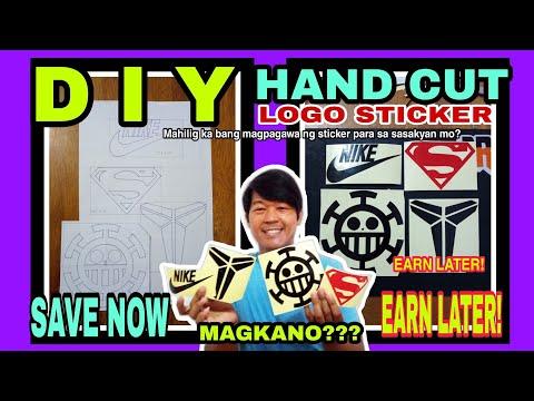 # HAND CUT LOGO STICKER / MANUAL CUTTING