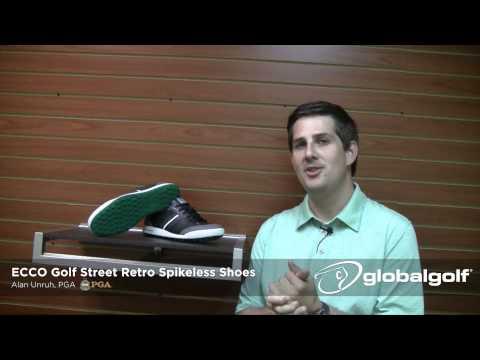 ECCO Golf Street Retro Spikeless Golf Shoe