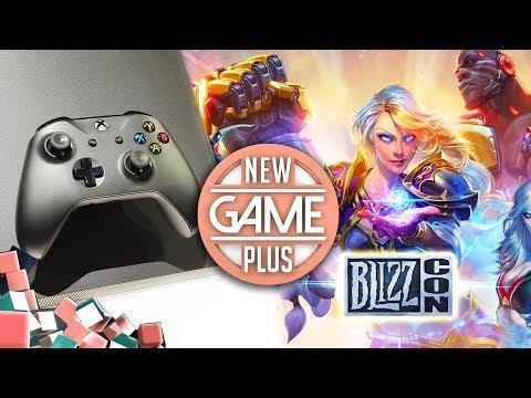 Xbox One X im Test, die Highlights der Blizzcon 2017 & Paris Games Week 2017   New Game Plus #68