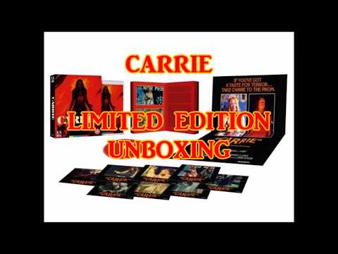 Arrow Video Carrie Limited Edition Unboxing