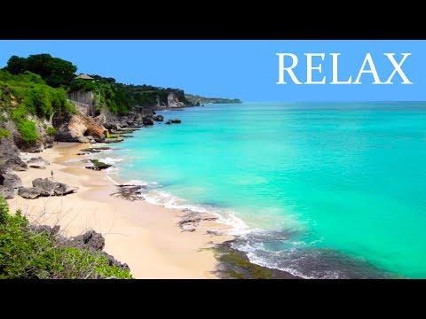 Relaxačná hudba s jemným zvukom vody a prírody