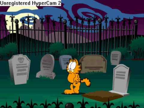 Garfield's scary scavenger hunt walkthrough (part 1)
