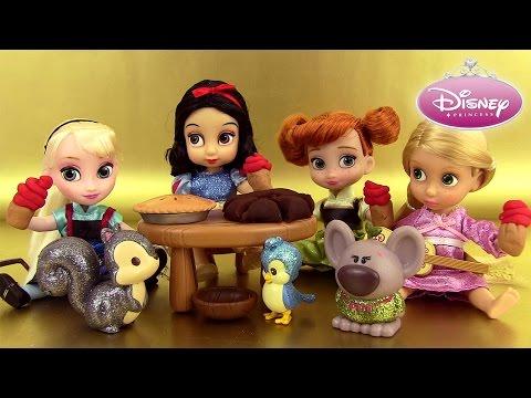 Poupées Disney Princesses Animators' Collection Dolls Play Doh Reine des Neiges Raiponce