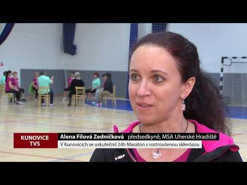 TVS: Kunovice - Maraton s roztroušenou sklerózou