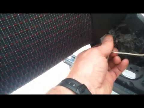 Ford Fiesta Seat Tilt Handle and Cable replacement