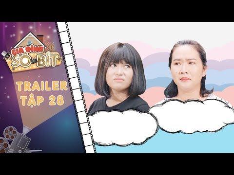 Gia đình sô - bít |Trailer tập 28: Thảo Trâm bị chủ nhà trọ mắng té tát vì chuyên gia trễ tiền phòng - Thời lượng: 60 giây.