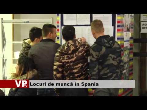 Locuri de muncă în Spania