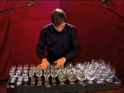 harp - Toccata and fugue in D minor by J. S. Bach played on glass harp (musical glasses) by robert Tiso Recorded and mixed at Blocco A, (PD) Italy by Giulio Ragno F...