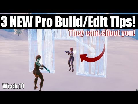 3 NEW Pro Building And Editing Tips And Drills In Fortnite Creative Mode! Staying Ahead Of The Curve