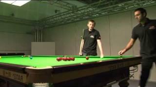 Rileys Future Stars Of Snooker Champion Trains With Ronnie O'Sullivan