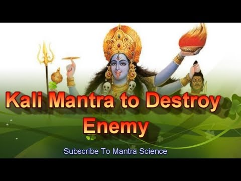 Video Extremely Powerful Kali Mantra To Destroy Enemy download in MP3, 3GP, MP4, WEBM, AVI, FLV January 2017