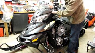 8. Removing hood on BRP Ski-Doo XS/XM