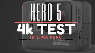 I have never recorded in 4k and wanted to test out the new GoPro Hero 5. I went to Lima Peru and recorded the entire time at 1080p at 60fps. Was afraid to shoot the entire time in 4k due to the low frame rate. Any suggestions and tips would be great on shooting in 4k. Let me know what you think? The night shot of the Drink to me looks super grainy.