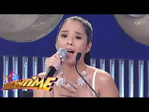 dad - Maxene dedicates her 'sample' to her dad Francis M.