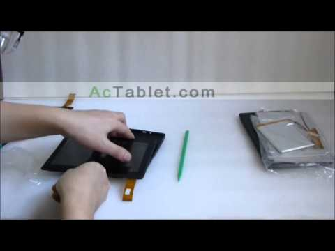 Aakash 2 Ubislate 7Ci Disassembly for Replacing LCD Touch Screen