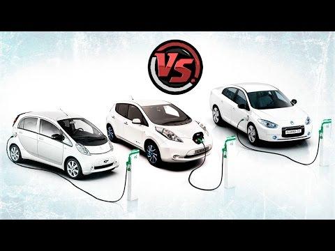 Тест электромобилей Nissan Leaf, Renault Fluence ZE и Peugeot Ion/Mitsubishi Mitsubishi i-MiEV