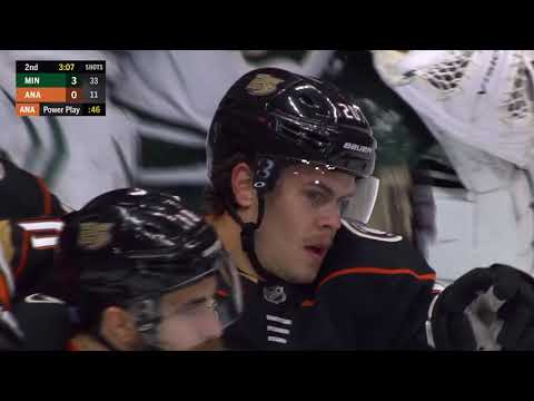 Video: Minnesota Wild vs Anaheim Ducks | NHL | NOV-09-2018 | 23:00 EST