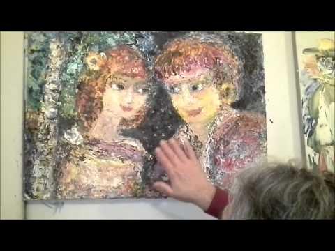 Любовь. Это удивительная картина из создающейся книги картин и афоризмов Хасая Алиева