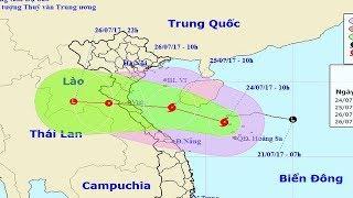 """Trưa 25/4 bão số 4 tiến sát bờ, miền Trung mưa to.Dự báo, khoảng 10h trưa mai (25/7), bão số 4 sẽ vào khu vực Nam Vịnh Bắc Bộ, cách đất liền các tỉnh Thanh Hóa - Quảng Bình khoảng 200km. Trong chiều và đêm hôm nay (24/7), ở các tỉnh từ Quảng Bình đến Quảng Ngãi có mưa.Nguồn ANTV.Kênh ANTV luôn cập nhật tin tức thời sự, tin an ninh với 4 tiêu chí """"Nhân văn, tin cậy, kịp thời, hấp dẫn"""". Rất nhiều chương trình của ANTV đã chiếm được cảm tình và sự quan tâm của độc giả như : Hành trình phá án, cameara giấu kín, thời sự 113 online, an ninh ngày mới... ĐĂNG KÍ NGAY để được cập nhật những tin tức thời sự mới nhất hàng ngày tại đây https://goo.gl/6ILihu Cùng dõi theo HÀNH TRÌNH PHÁ ÁN mới nhất tại https://goo.gl/Lx2g6ECập nhật TIN AN NINH hàng ngày tại https://goo.gl/0CqaF6Cảm ơn các bạn đã chú ý quan tâm và theo dõi!"""