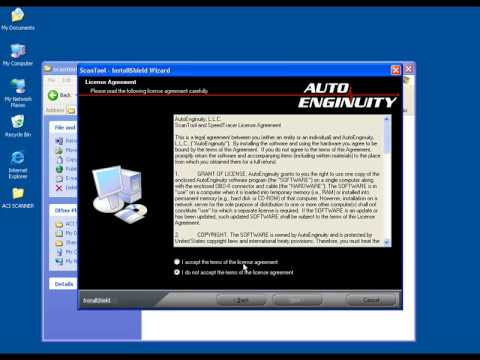 ACI Scanner Auto Communication Interface Installation Instruction Video