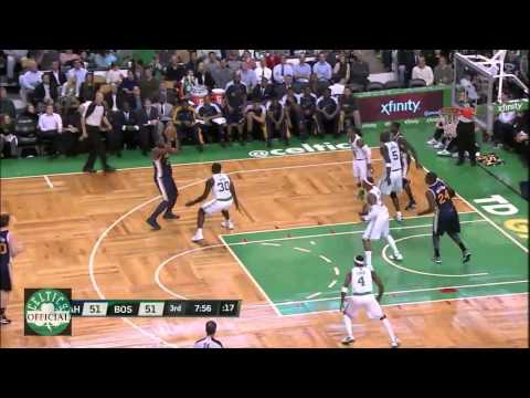 OfficialCeltics - http://mr23mj.blogspot.com/ Twitter: @OfficialCeltics http://bostonceltics.at.ua/ Rondo alley oops to KG, Wilcox, great hustle by Bass, monster dunk by Green...