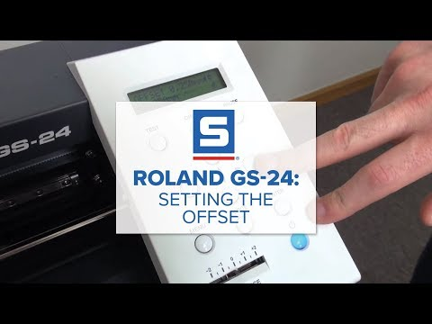 Roland GS-24: Setting the Offset