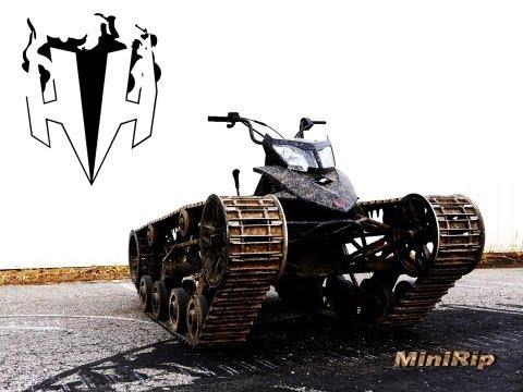 Mini Ripsaw An Allterrain Vehicle Built With Tank