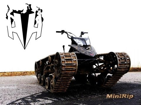 Mini Ripsaw an AllTerrain Vehicle Built With Tank