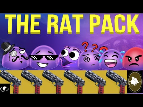 When You Use 6 Rat Kings In PVP...(And 6 Bubbles 😳)
