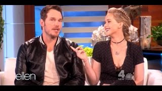 Video Jennifer Lawrence and Chris Pratt at The Ellen DeGeneres Show (11-10-2016) | Full interview MP3, 3GP, MP4, WEBM, AVI, FLV Maret 2019