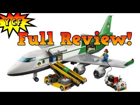 airplane - LEGO 60022 Cargo Terminal CITY Set Review of a Big LEGO Airplane with 5 Minifigures More LEGO CITY 2013 Summer Set Reviews: http://bit.ly/LEGO_CITY_2013_Summ...