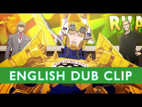 TIGER & BUNNY Official English Dub Clip- Barnaby's Partner - On DVD/BD 2-24-15