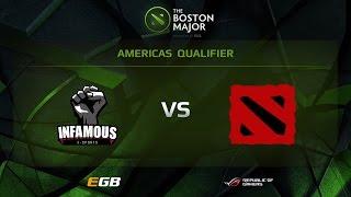 Infamous vs FDL, Boston Major AM Qualifiers