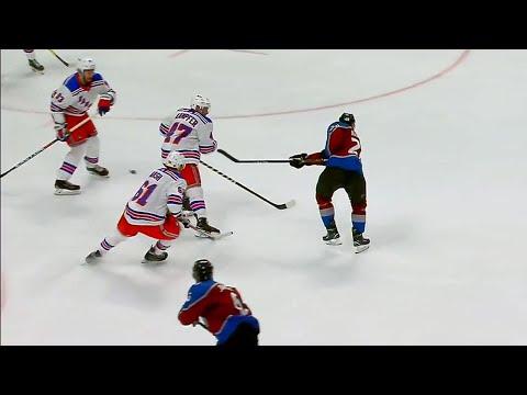 Video: MacKinnon beats Lundqvist for 23rd goal of season