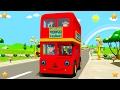Wheels On The Bus | Kindergarten Nursery Rhymes & Songs for Kids | Little Treehouse S03E94