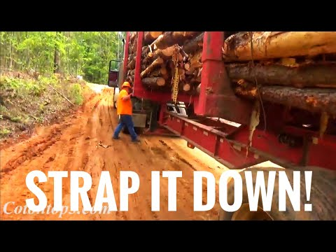 How we strap our loads and the laws in Mississippi and Alabama