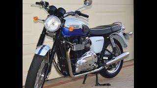 7. 2010 Triumph Bonneville T100 Sixty (1960 Anniversary Edition)