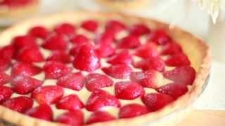 Tarte aux fraises toute simple