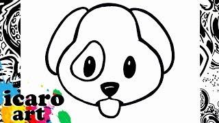 hola amigos de youtube el dia de hoy dibujare un emoji version perro espero les guste y sea de mucha utilidad al dibujarlo. suscribete y comparte este video con tu familia y amigos.facebook: https://www.facebook.com/pages/Icaro_art/1518273038440972instagram: http://instagram.com/icaro_art/