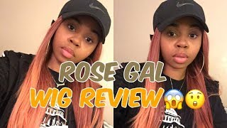 ROSE GAL WIG REVIEW | CrySTYLE Beauty