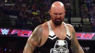 Roman Reigns & The Usos vs. The Club - Six-Man Elimination Tag Team Match: Raw, May 9, 2016