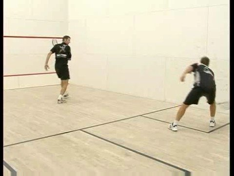 Squash 2 Player Drills : Squash 2 Player Drills: Forehand Kill Shots