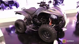 6. 2015 Kymco Maxxer 450i Sport ATV - Walkaround - 2014 EICMA Milan Motorcycle Exhibition
