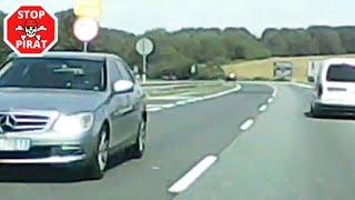 DK86 w stronę Siewierza. Starsza kobieta w Mercedesie jechała pod prąd